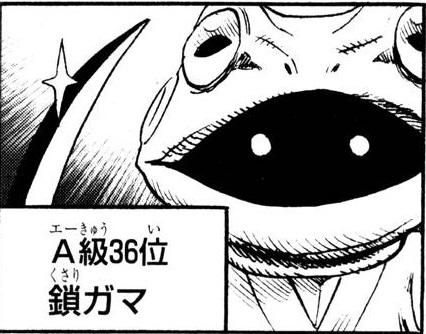 A級ヒーロー36位 鎖ガマ